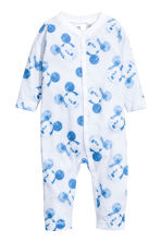 2-pack all-in-one pyjamas - Light blue/Mickey Mouse - Kids | H&M 2